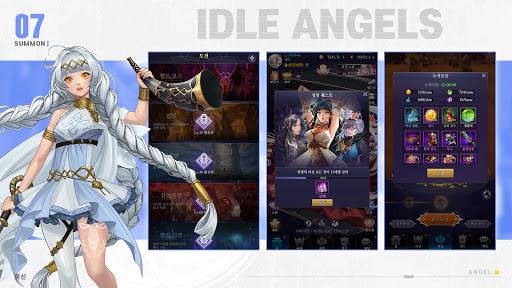 IDLE ANGELS : uc5ecuc2e0uc804uc7c1 apkpoly screenshots 23