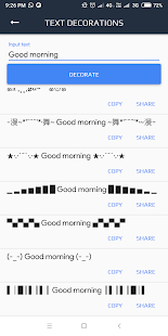 Text Tools - Fancy stylish text Repeater-Decorator