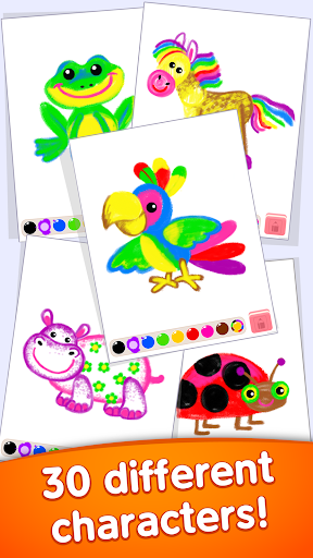 Toddler coloring apps for kids! Drawing games! screenshots 5
