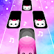 Magic Pink Tiles: Piano Game
