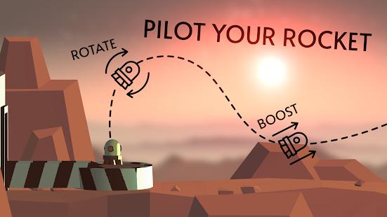 Mars Flop Rocket: Space Frontier 1.1 screenshots 1