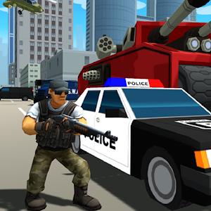 Grand Gangster City: Pixel 3D Gun Crime Game