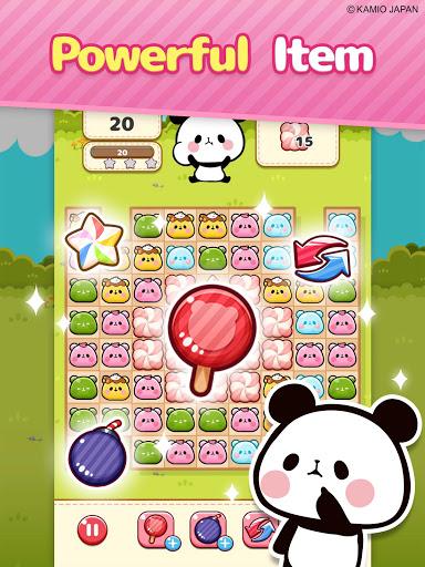 Match 3 Puzzle Tours : MOCHI MOCHI PANDA  screenshots 12