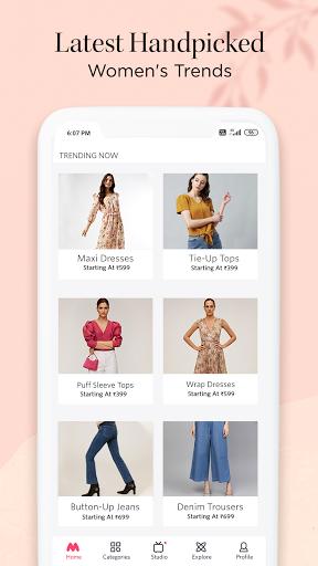 myntra online shopping app - shop fashion & more screenshot 2