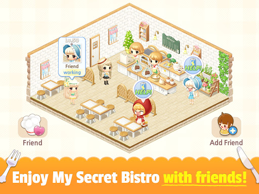 My Secret Bistro - Play cooking game with friends 1.8.6 screenshots 14