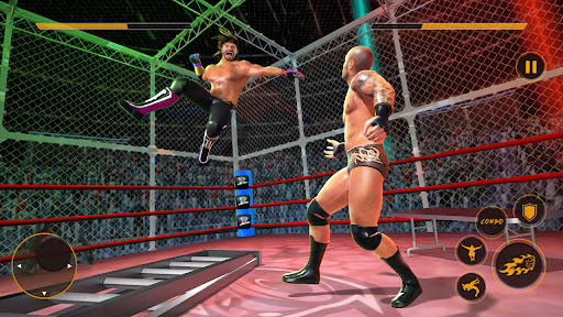 Real Wrestling Fight Championship: Wrestling Games  screenshots 1