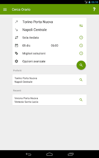 Train Timetable Italy  Screenshots 10
