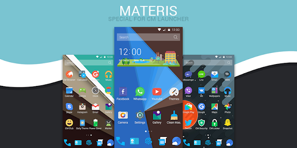 Materis  Icon Pack For Pc (Windows 7/8/10 And Mac) 1