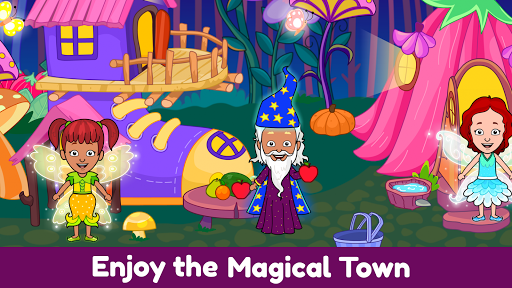 Tizi World: My Play Town, Dollhouse Games for Kids 6.2 Screenshots 5