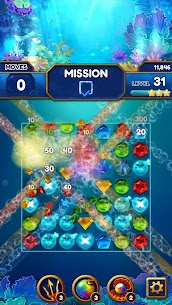 Under the Deep Sea: Jewel Match3 Puzzle 6