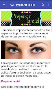 Aprende Maquillaje 1.7 Screenshots 2