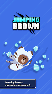 Jumping Brown
