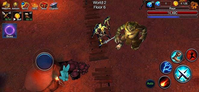 Dungeon Clash Mod Apk- 3D Idle RPG (Unlimited Gold/ Diamonds) 3