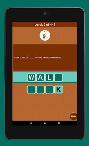 Jumble Word Game - Correct the Spelling 1.5 screenshots 8