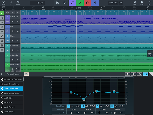Cubasis LE 3 Trial - Music Studio and Audio Editor  Screenshots 10