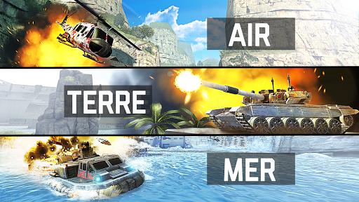 Massive Warfare. Jeu de guerre tank vs hélicoptère APK MOD – Pièces de Monnaie Illimitées (Astuce) screenshots hack proof 1