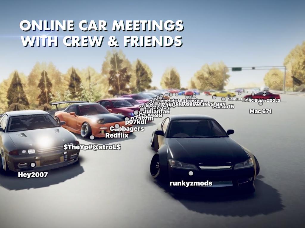 Hashiriya Drifter Online Drift Racing Multiplayer MOD poster 12