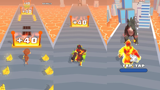 Animal Duel: Run with Kaiju Evolution  screenshots 1