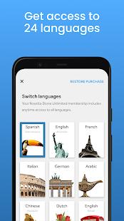Rosetta Stone: Learn, Practice & Speak Languages 8.10.0 Screenshots 3
