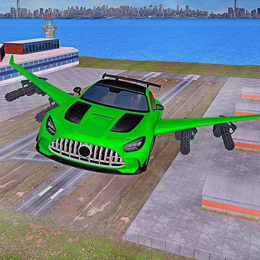 Flying Car Shooting- Super Macchina Volare Gioco