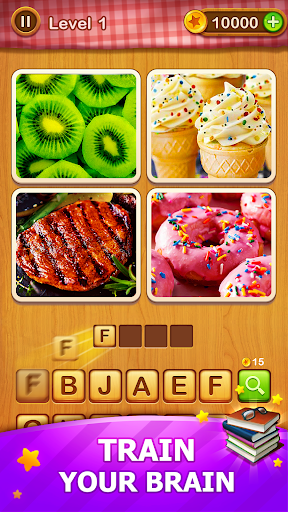 4 Pics Guess 1 Word - Word Games Puzzle 3.3 Screenshots 11