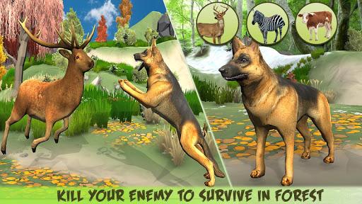 Code Triche Dog Family Simulator - Virtual Game 2019 (Astuce) APK MOD screenshots 1