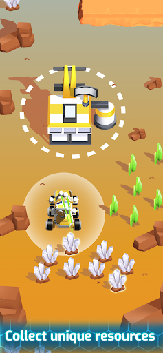 Space Rover: idle planet mining tycoon simulator 1.93 screenshots 1