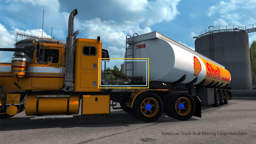 American Truck Real Driving Cargo Simulator 2021 apkpoly screenshots 5