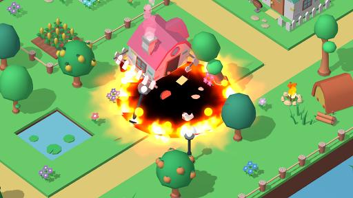Code Triche Holein - io games offline. Hole eat everything!  APK MOD (Astuce) screenshots 1