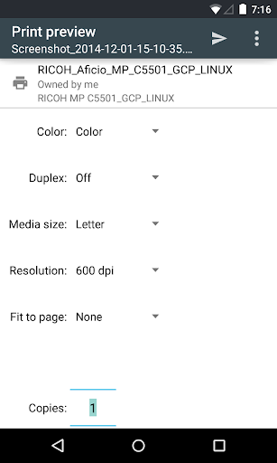 Cloud Print 1.43 Screenshots 5