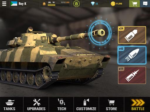 War Machines: Tank Battle - Army & Military Games 5.14.0 screenshots 8