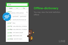 screenshot of LINE Dictionary: English-Thai