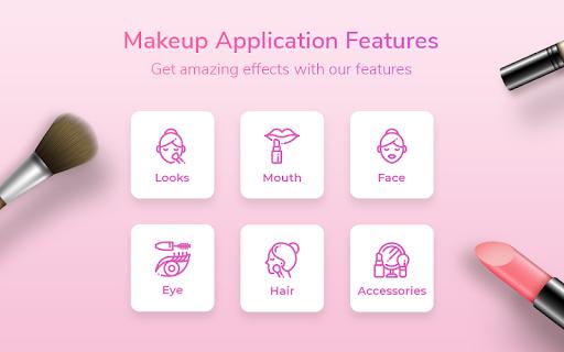 Beauty Photo Editor,Pretty Makeup & Selfie Camera 1.7.12 Screenshots 9