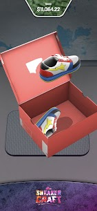 Sneaker Craft! MOD APK 1.0.7 (Unlocked Shoes/Stage) 5
