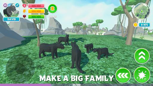 Télécharger Gratuit Panther Family Sim 3D: aventure dans la jungle mod apk screenshots 3