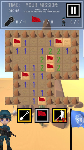 Trooper Sam - A Minesweeper Adventure apkpoly screenshots 6