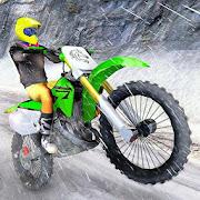 Mountain Bike Snow Moto Racing
