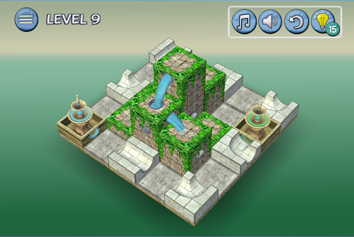 Flow Water Fountain 3D Puzzle 1.2 Screenshots 4
