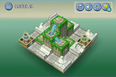 Flow Water Fountain 3D Puzzle 4