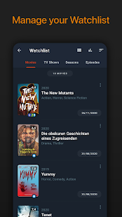 Moviebase: Manage Movies & Series, Track TV Shows Screenshot