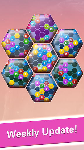 Merge  Block Puzzle - 2048 Hexa modavailable screenshots 5