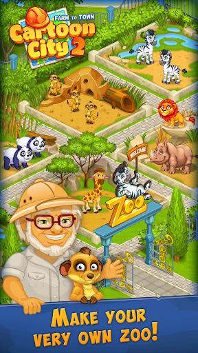 Cartoon City 2:Farm to Town. Build your dream home 2.20 screenshots 11