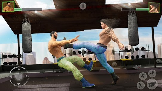 Bodybuilder Fighting Games: Gym Trainers Fight Mod Apk 1.3.4 (Unlimited Money) 1