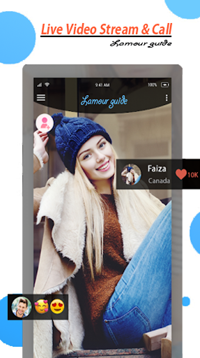 Free Lamour Live Video Stream and Chat Guide 1.0.1 Screenshots 2