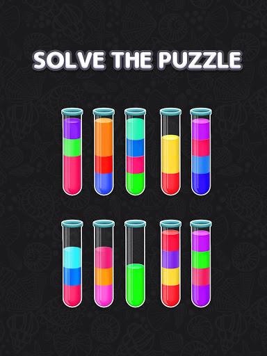 Color Water Sort Puzzle: Liquid Sort It 3D apktram screenshots 19