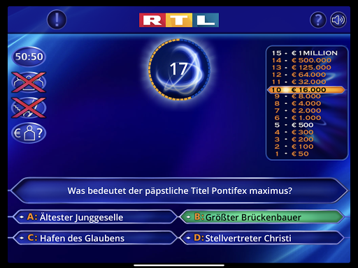 Wer wird Millionu00e4r? Trainingslager 2.0.76 screenshots 12