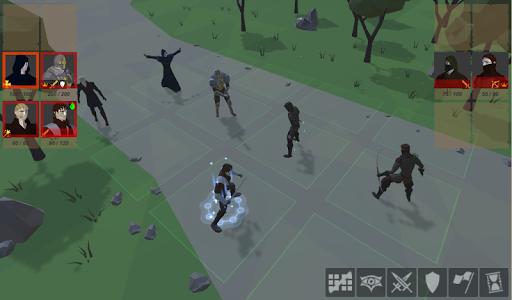 Warriors of medieval walls Tactical turn-based RPG apkdebit screenshots 6