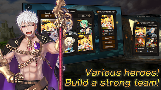 Secret Tower VIP (Super fast growing idle RPG) android2mod screenshots 4