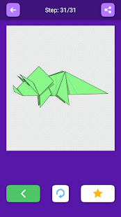 Origami Dinosaurs And Dragons Of Paper
