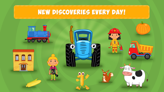The Blue Tractor: Fun Learning Games for Toddlers 1.2.0 Screenshots 6